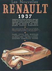 Renault Viva Grand Sport (1937) (andreboeni) Tags: classic car automobile cars automobiles voitures autos automobili classique voiture retro auto oldtimer klassik classico classica publicity advert advertissement renault coupe viva grandsport