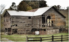 Hate to see it go (cscott_va.) Tags: barn virginia old abandoned