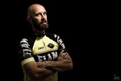 Matteo (albertosicchiero) Tags: lampista strobist ritratto portrait black nero cycling ciclismo