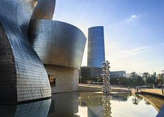 Bilbao - Guggenheim Museum 2 (RF_86) Tags: bilbao spain photography 10 november 2016 canon eos 60d autumn fine art museum amazing panorama best golden hour color 18135mm