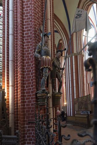 Doberaner Münster • Die Memorialstatue von Herzog Magnus II.