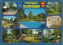 Illertissen (Alea's Postkartenecke) Tags: germany deutschland postcard sammlung post ansichtskarte postkarte bayern campingplatz illertissen multiview urlaubsgrse postkartensammlung city