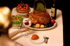 Happy Thanksgiving!!! (DollsinDystopia) Tags: thanksgiving diorama