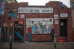 Mart for the Asses (davidpiano92) Tags: streetart graffiti dontfretart londongraffiti streetartlondon martfortheasses