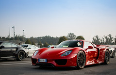 Nine-One-Eight (David Clemente Photography) Tags: porsche porsche918spyder porsche918 918 918spyder 918hybrid red918 porsche918hybrid spyder hybrid automotivephotography autodromomonza cars supercars hypercars