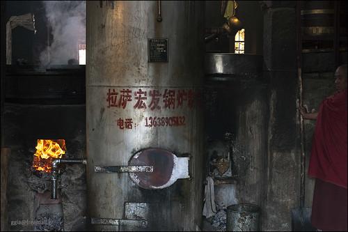 17 August 2011:Monastery Gandan, Tibet - China.