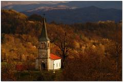 Late autumn (aviana2) Tags: autumn church brkini zajelšje slovenia building worship fotocompetitionbronze