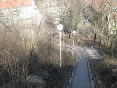 Stairs between Frigångsgatan and Skansen Kronan 2013 (biketommy999) Tags: 2013 göteborg skansenkronan fortress fästning utsiktsplats viewpoint kulturminne