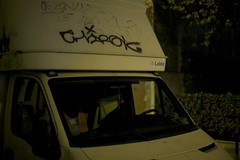 Chirak (.Rgsoixantedixhuitclan.) Tags: camion nuit tag handstyle