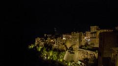 An old village (Pitigliano in Tuscany) (Federico Violini) Tags: nikond300 nightimage toscana tuscany italia immagininotturne medieval art