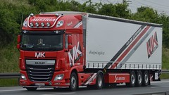 A - MK Logistik DAF XF 106 SSC (BonsaiTruck) Tags: mk daf xf 106 lkw lastwagen lasdtzug truck trucks lorry lorries camion