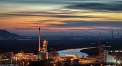 Sunset across the Mersey Estuary (3 of 4) (andyyoung37) Tags: merseyestuary runcorn uk cheshire greatsky rivermersey sunset
