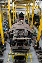 'SIR NIGEL GRESELY 60007 IN THE WORKSHOP' - 'NRM YORK' - NOVEMBER 2016 (tonyfletcher) Tags: tony fletchernrmyorksteam locomotivenational railway museum york60007sir nigel greselya4steam locomotive