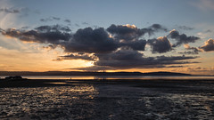 Prime Spot (cathbooton) Tags: sunset cars vehicle spectator wirral merseyside sky clouds beach water november evening