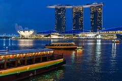 ABM (Another Blue Monday) / Marina Bay, Singapore (Frans.Sellies) Tags: img1467 singapore marinabay marinabaysands bluehour 21072016img14672