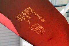MH-65D Composite Rotor Blade (Ian E. Abbott) Tags: rotorblade helicopterrotorblade blademarkings uscoastguardairstationsanfrancisco uscgairstationsanfrancisco uscoastguardsfo uscgsfo uscoastguard uscg uscoastguardhelicopters uscghelicopters coastguardhelicopters coastguard helicopters sanfranciscointernationalairport sanfranciscoairport sfo