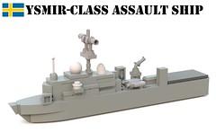 Ysmir-class amphibious transport dock (Matthew McCall) Tags: lego navy military assault ship amphibious austin