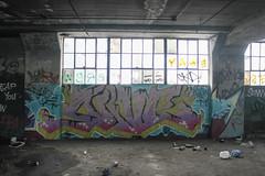Nive (NJphotograffer) Tags: graffiti graff new jersey nj newark abandoned building urban explore nive pdv clout crew