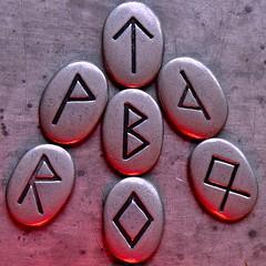 Arrow of Destiny (Nanny Bean (sorry, broadband v limited!)) Tags: arrow tiwaz rune northstar compassneedle oathtaking macromondays