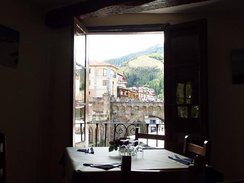 Mesa con vistas