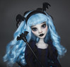 Little bat (Szklanooka) Tags: monsterhigh mh ghoulia ghouliayelps ooak repaint custom doll customdoll gothic lolita bat