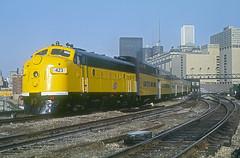 C&NW F7 423 (Chuck Zeiler) Tags: cnw f7 423 railroad emd chicago train chz chuck zeiler