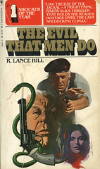 Novel-The-Evil-That-Men-Do-by-R-Lance-Hill (Count_Strad) Tags: mystery softcover novel books