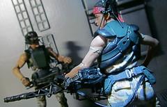 Smartgunners (Inaction Figure) Tags: aliens alien vasquez m56 smartgun lv426 sulaco acheron uscmc weylandyutani neca actionfigure colonialmarines