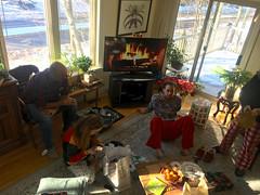 Opening Presents Starts (Craig James White) Tags: canada ontario brucecounty saugeenshores portelgin christmas