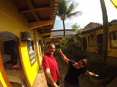 Photo de 14h - Bien arrivés à Paraty (Brésil) - 01.09.2014