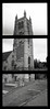 St. Andrew's Church Farnham (pho-Tony) Tags: auto bw white black japan rollei pen japanese iso100 28mm olympus retro frame half 100 1970 pocket halfframe 1970s rodinal olympuspen olympuspenee3 zuiko 18x24 compact farnham f35 ee3 rolleiretro100 18mmx24mm