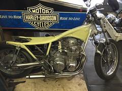 IMG_0197 (digyourownhole) Tags: vintage honda motorcycle restoration caferacer cb550 bratt buildnotbought
