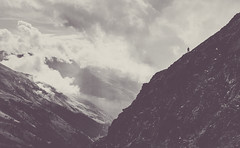 A Majestic Scale (Janne Ulvinen) Tags: morning sky italy mist mountains alps misty fog clouds sunrise trekking italia cloudy hiking foggy alpine mountaineering alpen montagna lombardia lombardy alpinista pontedilegno