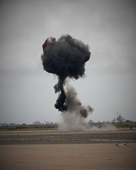 IMG_0207 (David Reich Photography) Tags: show airplane army fire us san force aircraft aviation military smoke air explosion flight navy diego incendiary marines miramar explosive mcas