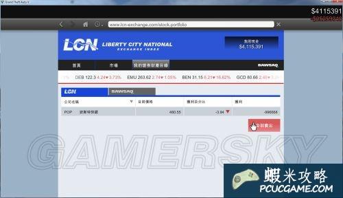 GTA5 PC版炒股賺錢教學 GTA5怎麼炒股賺錢