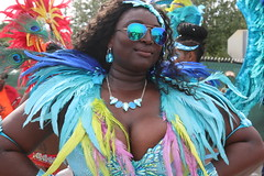 Miami Carnival 2015 950 (Chuck Diesel) Tags: titties parade cleavage masquerader miamicarnival2015