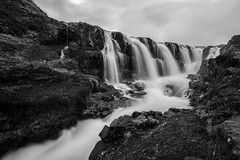 Kolugljfur (Iceland) with SONY ILCE6000 (Micol) Tags: trip travel summer white motion black nature water monochrome clouds river monocromo waterfall iceland nuvole estate sony fiume august natura canyon bn explore agosto filter e 400 200 100 mm 300 500 alpha bianco nero mothernature paesaggio 6000 density pz neutral cascata islanda ilce 1650 esplora nd1000 kolugljfur a6000 sonysti selp1650 igersiceland ilce6000 icelandinspired