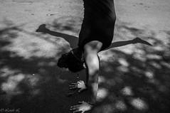 Circassian ! (Manon Lz.) Tags: blackandwhite bw outdoor circus nb cirque circassian noiretblank circassien