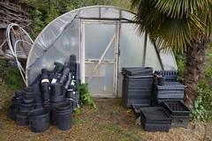 Hoop House (Heath & the B.L.T. boys) Tags: farm greenhouse reuse