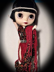 Blythe-a-Day November #1 Something That Starts with N: LaVern and Her Costumes