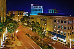 View of downtown Fort Myers, Florida, U.S.A. (Jorge Marco Molina) Tags: urban usa architecture downtown cityscape florida palmtrees fortmyers southwestflorida sunshinestate nikond7100