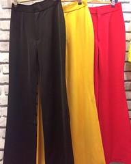 """480฿#ส่งฟรีลงทะเบียนส่งemsเพิ่ม20บาทจ้า  กางเกงขาม้า🐴 ผ้าเนื้อนุ่มหนาพิเศษ ทรงกางเกงทำให้ดูสูงเพียว📌 ใส่ง่ายกับเสื้อยืดก็ดูดีละค่า 👍 (นางแบบสัดส่วน32-25-35สูง157ใส่S) Size S เอว 25""""สะโพก 36"""" ยาว 43"""" Size Mเอว 27""""สะโพก 38"""" ยาว 43"""" Si"""