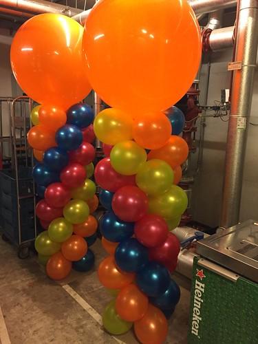 Ballonpilaar Breed Rond Creative Valley Utrecht