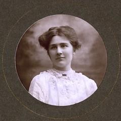 Mary Leigh, c.1910.