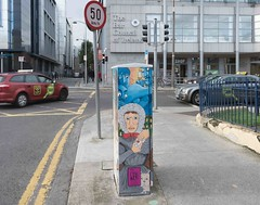 STREET ART AT 38 MARY'S LANE [DUBLIN CANVAS PAINT A BOX PROJECT BOX-TSB4M]-110164