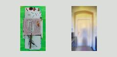 Peeling the Physalis. Preparation Vorbereitung 365 days project: Construction of the Loom / My Shadow on the kitchen door Bau des Webstuhls / mein Schatten auf der Tür zwischen Spiegel Küche blau Wohnzimmer maigrün. Szenen ohne Ehe, selbst ist die Frau (hedbavny) Tags: vienna door blue light shadow sun white selfportrait man green kitchen screw austria mirror abend licht construction spiegel diary plan tapis livingroom improvisation installation montage brainstorming grün küche weaver blau frau turm selfmade sonne morgen schatten modell tagebuch tür regal weber loom idee wohnzimmer tapestry screwdriver teppich textileart schraube selbstporträt webstuhl analogie werkstatt tapisserie entwurf weis schraubenzieher werkzeug dokumentation sonnenlicht kreativität arbeitsraum draughtsman wandteppich fibreart maigrün zeichentisch weavingloom textilkunst bildteppich workingchamber teppichweber hedbavny arbeitslicht