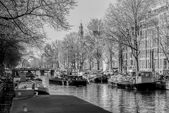 Uitzicht Westertoren (Photospyk) Tags: bw amsterdam architectuur westertoren henkspijkerman
