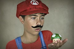 Mario 4 (Portrait Central) Tags: world show lighting new boy red portrait people brown man game guy nerd mushroom up hat canon paper studio one photo costume 3d smash team photographer photos cosplay brothers good character nintendo central dream young australia indoor super mario professional galaxy photograph gamer hero land kart backdrop mansion plumber thumbs bros luigi plunger oneup wii luigis 550d wiiu