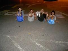 434875685jcxJAZ_fs (Zappacity) Tags: street girls parkinglot teen pjs barefoot carpark soles pajamas pyjamas whitesocks jimjams dirtysocks dirtyfeet