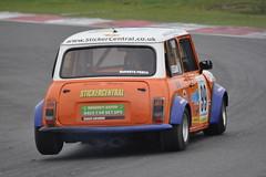 MINI Se7en Racing - R3 (26) Shayne Deegan (Collierhousehold_Motorsport) Tags: mini minicooper barc snetterton minimiglia mini7 minise7en snetterton300 minise7enracing